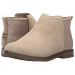 Deia (Little Kid/Big Kid) Oxford Tan Suede/Glimmer