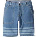 Denim Effect Shorts (Big Kids)