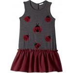 Back to School Lady Bug Dress (Big Kids)