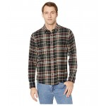 Lucky Brand Redwood Workwear Shirt Black Plaid
