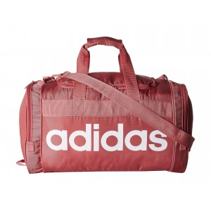 Santiago Duffel Trace Maroon Pink/White