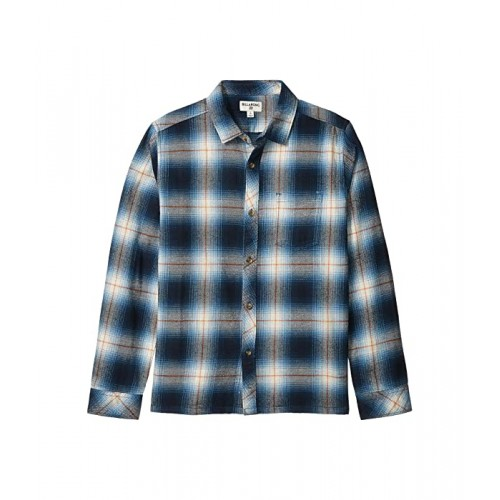 Billabong Kids Coastline Long Sleeve Shirt (Big Kids) Blue