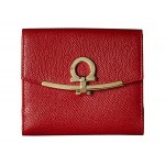 Gancini French Fold-Over Wallet