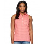 Sun Drifter Sleeveless Shirt Lollipop Multi Swiss Dot