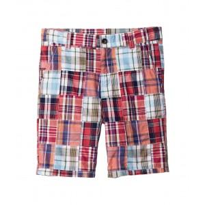 Flat Front Shorts (Toddler/Little Kids/Big Kids) Multi Patchwork