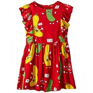 Veggie Woven Ruffled Dress (Infant/Toddler/Little Kids/Big Kids)