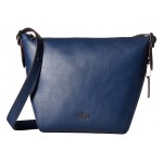 Dufflette in Natural Calf Leather DK/Navy