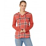 Reagan Midweight Flannel Long Sleeve Desert Red