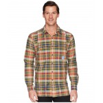 Madras Compass Long Sleeve Sport Shirt Pinot/Navy Multi