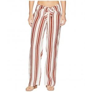 Kellen Printed Beach Pants Cover-Up New Ivory/Desert Spice