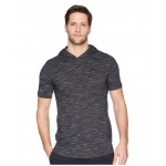Sportstyle Core Short Sleeve Hoodie Black/Graphite