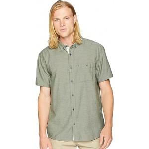 Waterfall Short Sleeve Shirt Thyme