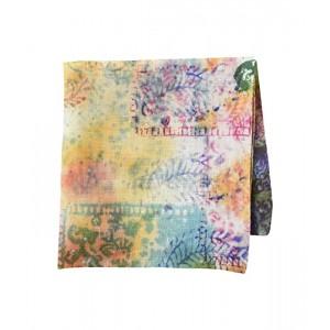 Floral Linen Pocket Square