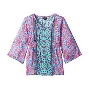 Portia Tunic Dress (Toddler/Little Kids) Pink