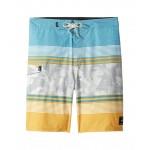 Bonsai Stripe Boardshorts (Little Kids/Big Kids) Golden Glow