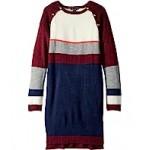Yarn-Dye Raglan Button Sweater Dress (Big Kids)