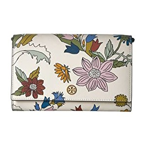 Robinson Floral Chain Wallet Ivory Meadow Folly