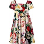 Flowers Mix Dress (Big Kids)