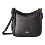 Polished Pebble Leather Chaise Crossbody