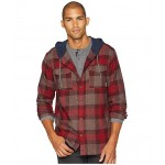 Flare Gun Flannel Hoodie Elderberry Check/Shark