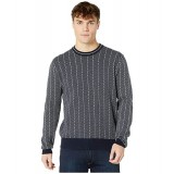 Diamond Jacquard Crew Sweater