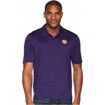 Clemson Tigers Textured Solid Polo Champion Purple