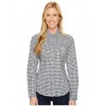 Super Harborside Woven Long Sleeve Shirt Collegiate Navy Dot Gingham/Sunlit