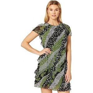 Bias Ruffle Dress
