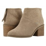 TOMS Lacy Desert Taupe Suede/Felt mix