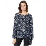 Garden Tie Long Sleeve Top