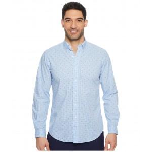 Poplin Long Sleeve Sport Shirt Anchor