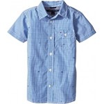 Charlie Short Sleeve Plaid Shirt (Toddler/Little Kids)