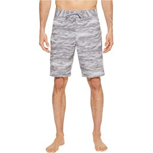 UA Reblek Printed Boardshorts Graphite Anthracite Overcasty Gray