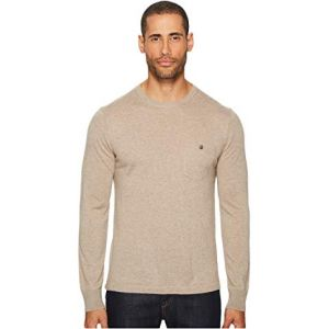 Long Sleeve Cashmere T-Shirt Sweater Flax