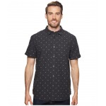 Short Sleeve Bay Trail Jacquard Shirt Weathered Black Heather/Tent Clip Dot