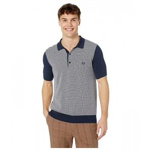 Two-Color Knitted Shirt
