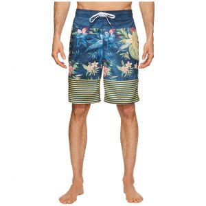 Aloha Stripe E-Boardshorts Speedo Navy