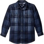 Maxwell Printed Denim Shirt (Toddler/Little Kids)