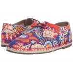 Darien Lace Up Persia Liberty Print