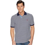 Classic Fit Yarn-Dyed Striped Polo Cruise Navy/White 1