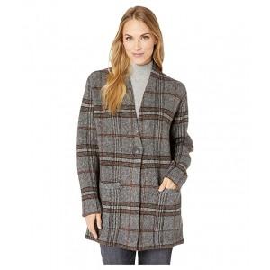 Rhiley Overcoat Cardigan Multi Plaid