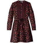Camille Ladybug Printed Long Sleeve Dress (Toddler/Little Kids/Big Kids)