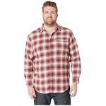 Big & Tall Boulder Ridge Long Sleeve Flannel Stone Pop Plaid