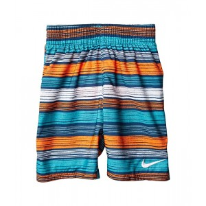 Nike Kids 6:1 Stripe 6 Volley Shorts (Big Kids) Industrial Blue