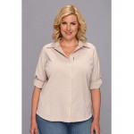 Plus Size Silver Ridge L/S Shirt