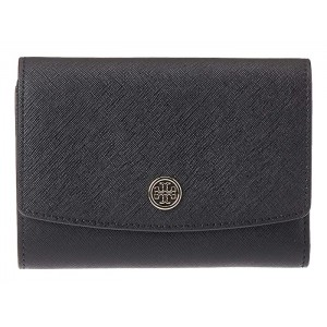 Robinson Foldable Medium Wallet Black