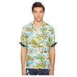 Printed Hawaiian Viscose Shirt Multi