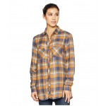 Always Adventure Long Sleeve Shirt Canyon Gold Plaid
