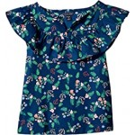 Chiffon Floral Printed Top (Big Kids)