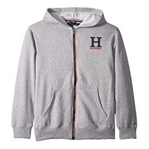 Matt Logo Hoodie (Big Kids) Grey Heather